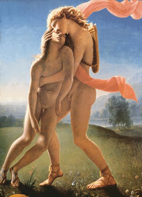 Jean Broc - La muerte de Jacinto - 1801