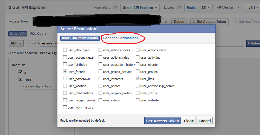 Developers Blog: Post or share to facebook page with out login