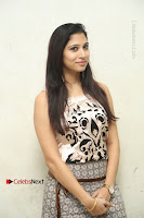 Actress Vanditha Stills in Short Dress at Kesava Movie Success Meet .COM 0013.JPG