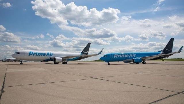 أمازون تقوم ببناء مطار خاص لتحسين خدمات توصيل الطرود