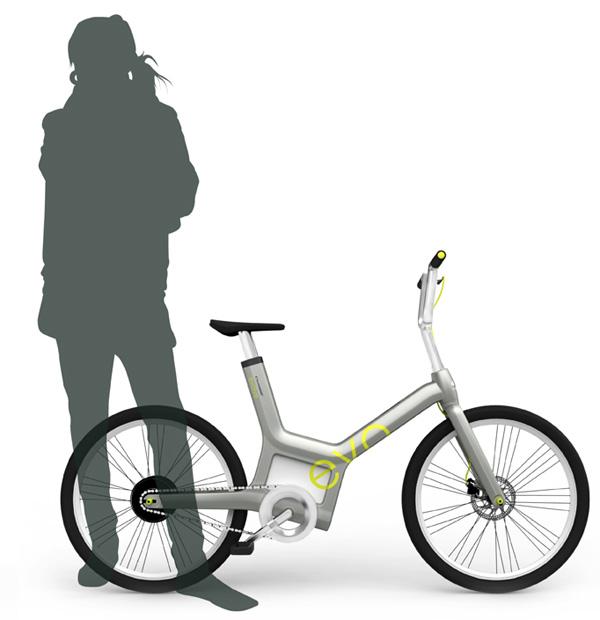 Crescent evolve bicycle
