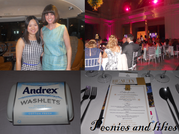 Andrex washlets, the beauty awards