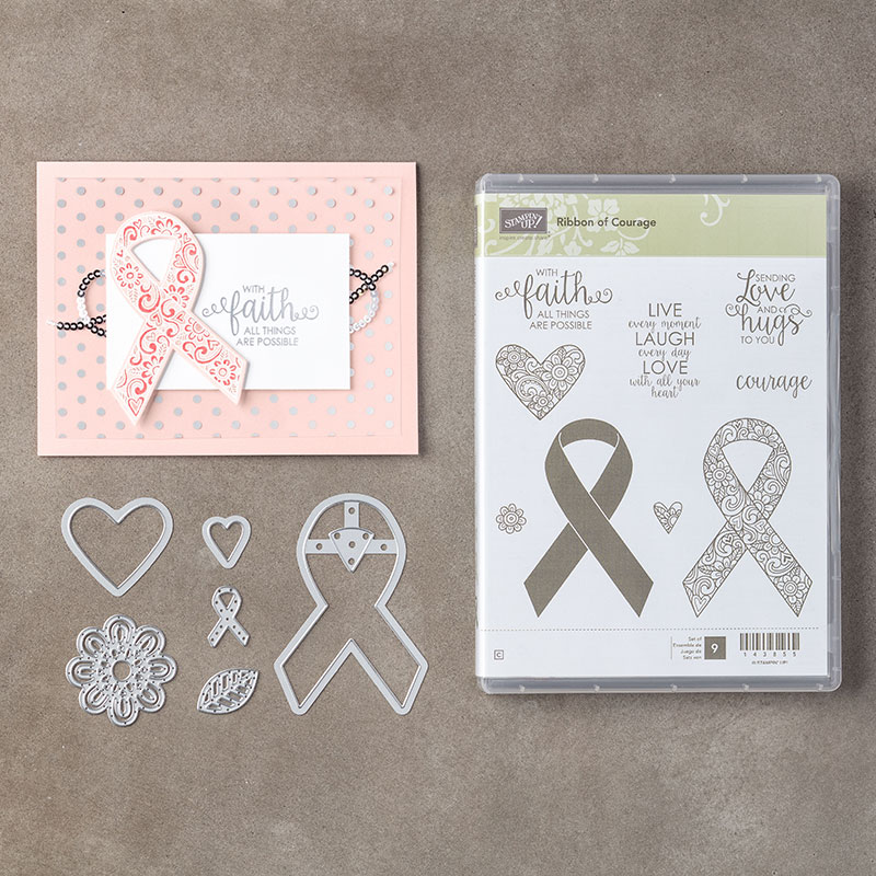 Amethystar Crafting Stampin Up Ribbon Of Courage Lucky Four Leaf