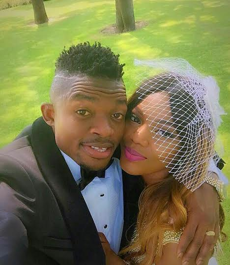 Super Eagle player Lucky Omeruo wed her woman today. 6666