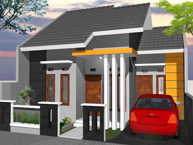 Contoh gambar rumah minimalis modern dengan gaya simple dan biaya murah