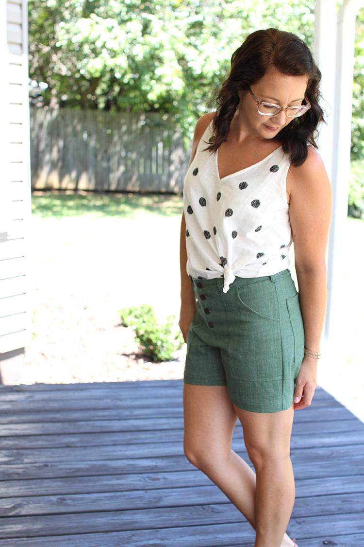 Lander Shorts // Sewing For Women