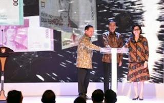 Resmikan Uang Rupiah Baru, Presiden Jokowi: Cintai Rupiah, Jangan Sebar Kabar Bohong