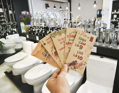 Coi mức giá thiết bị phòng tắm TOTO Nhật 2019 hàng thật tại Showroom Hita
