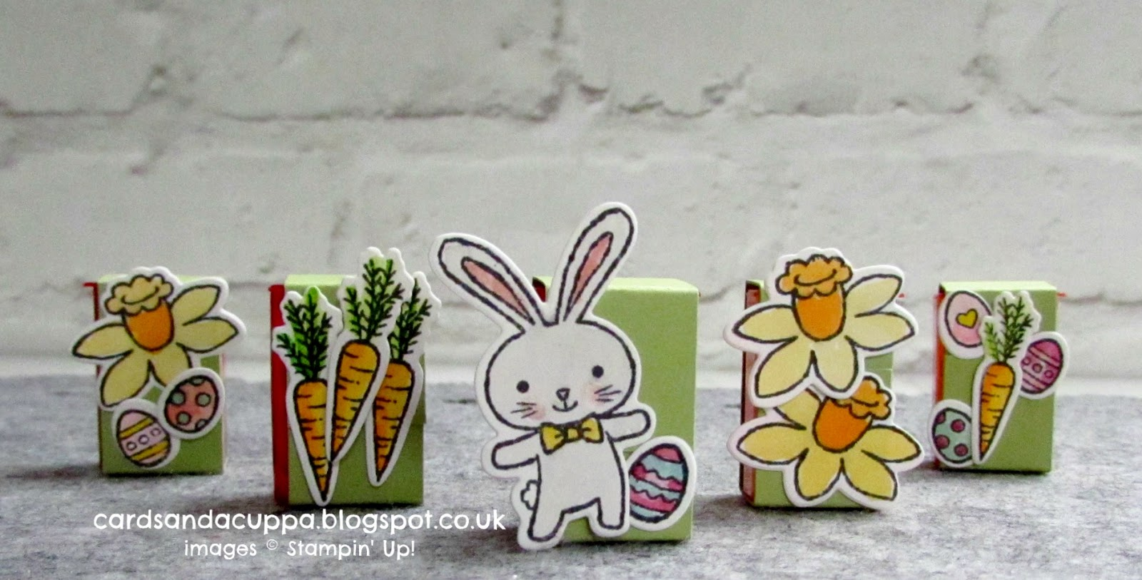 Sarah jane rae cardsandacuppa stampin up uk order online 247 these are such a cute little addition to easter gifts so i do hope you enjoyed todays video and have a go at making some of these soon negle Gallery