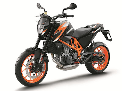 New KTM 690R side look photos
