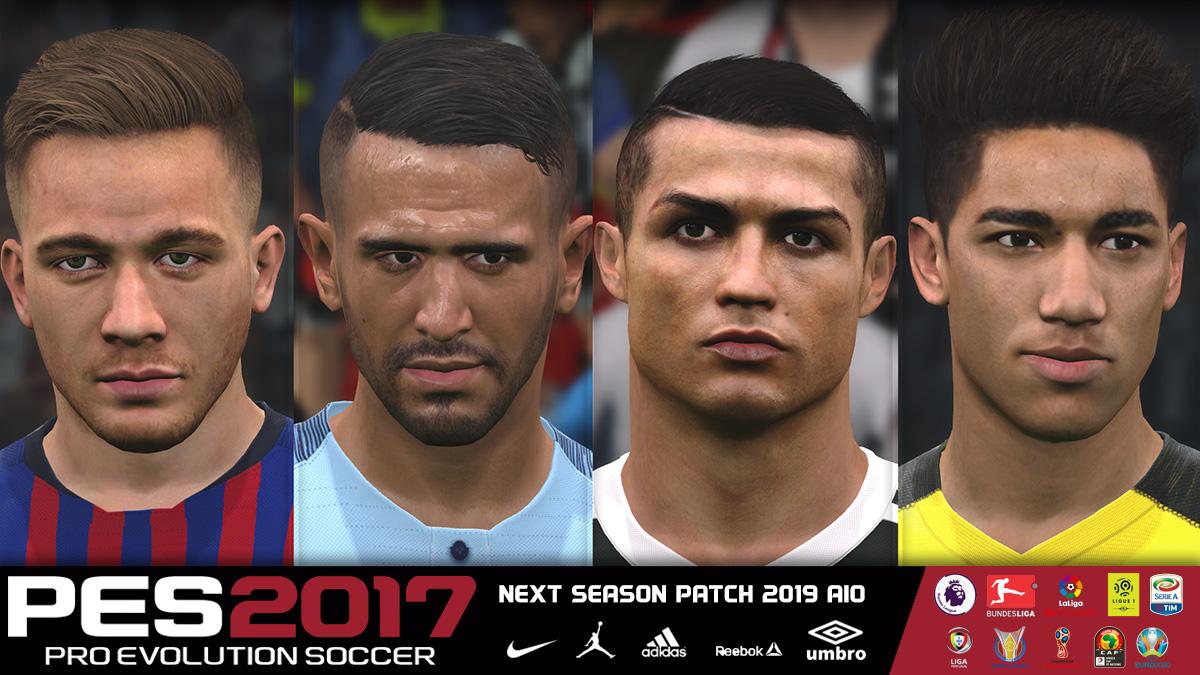 Next Season Patch 2019 | Update V6 0 | PES2017 [07 10 2018] | Pes