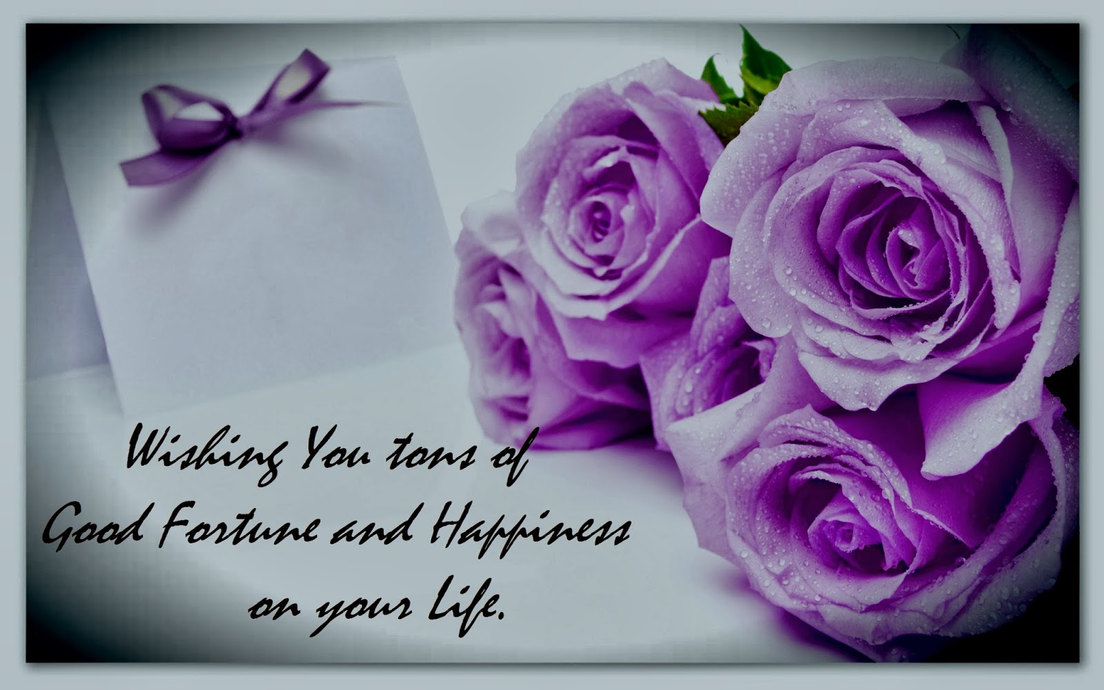 Purple Flowers Happy Birthday Quote Gardening Flower And Vegetables