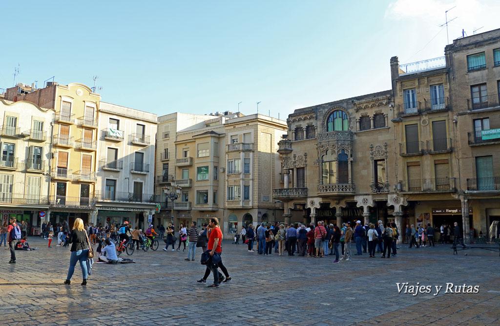 Plaza del Mercandal, Reus