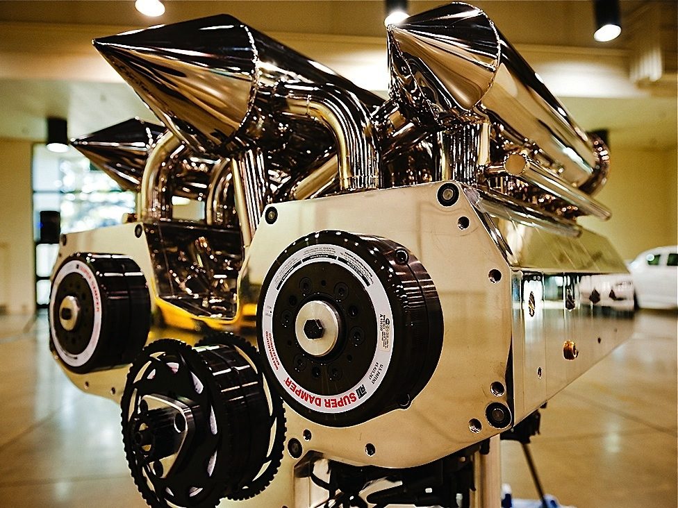 12-Rotor Rotary 960cc Engine capable of reaching more than