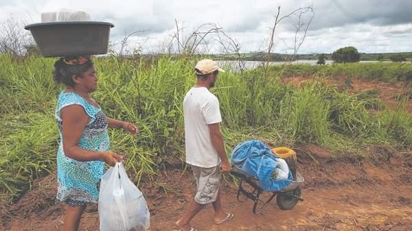 Ubajarense voltam às casas após ameaça de rompimento do Açude