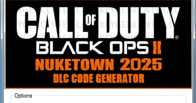 generateur de code nuketown 2025