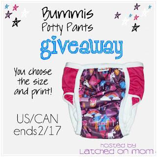 Bummis Potty Pant Giveaway