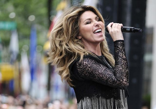 Shania Twain Headline Opening Ceremony