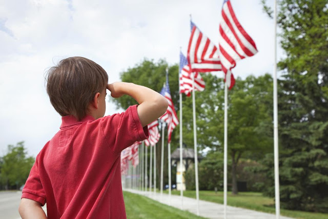 flag day pictures usa