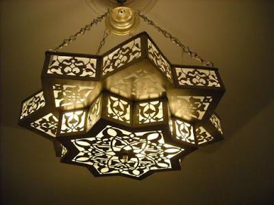 Model Lampu Gantung Masjid
