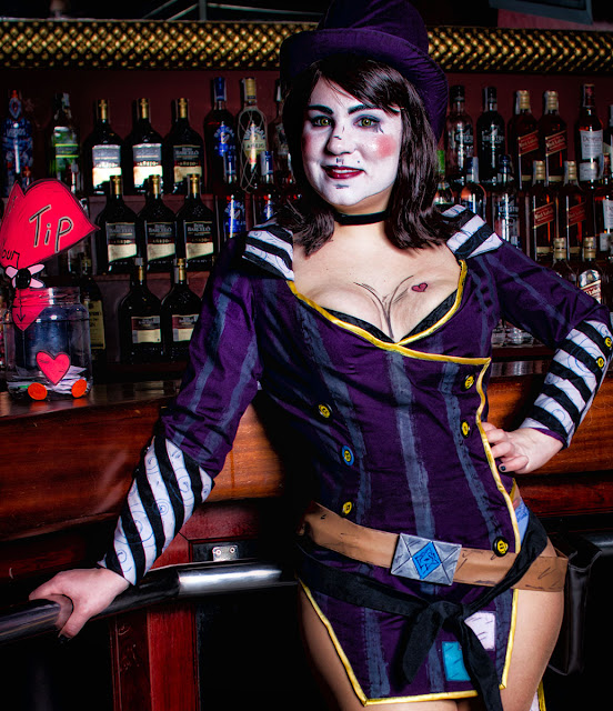 Sesion Fotos Borderland -  Mad Moxxi & Handsome Jack