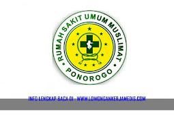 Lowongan Kerja Medis di RSU Muslimat Ponorogo Juni 2018
