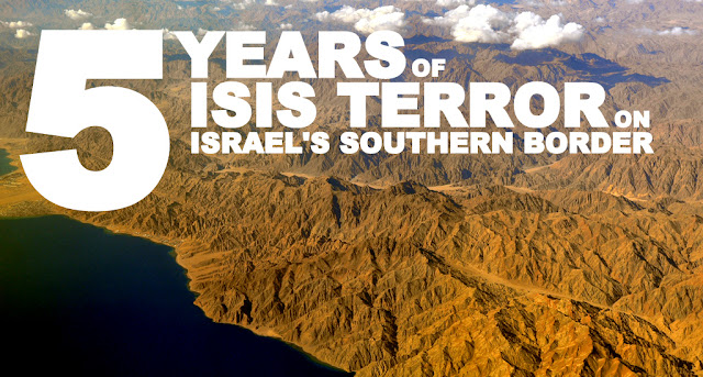 SITREP | 5 Years of ISIS Terror on Israel's Southern Border