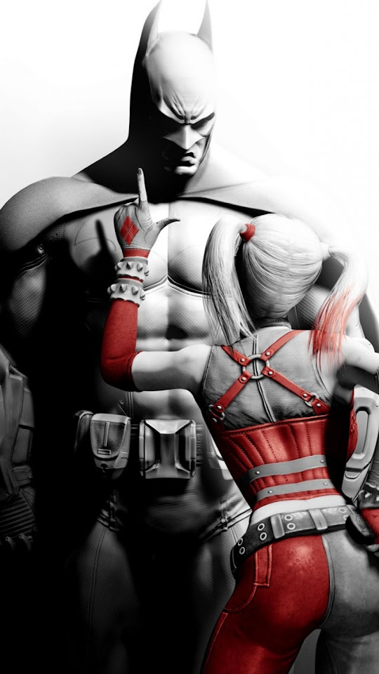 Batman And Harley Quinn   Galaxy Note HD Wallpaper