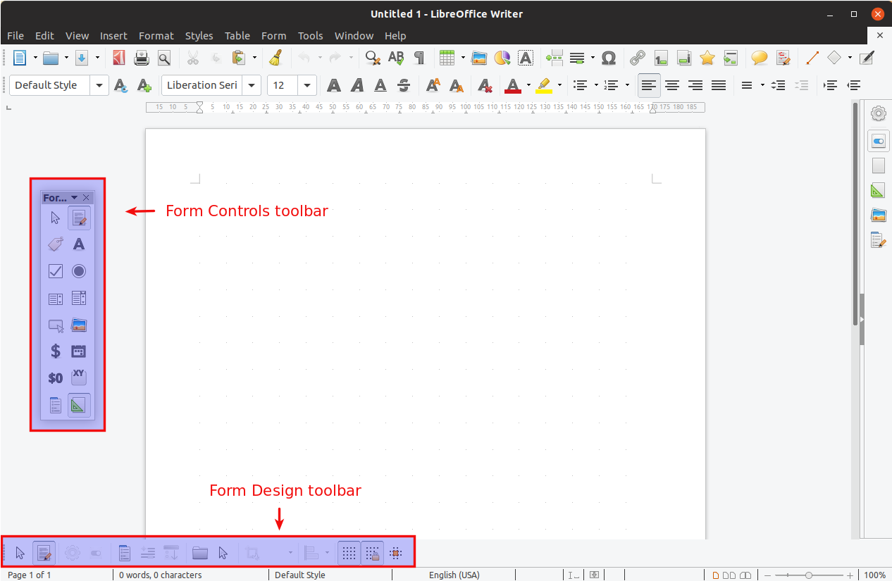 Pdf Libre How To Create Fillable Pdf Forms With Libreoffice Writer Linux