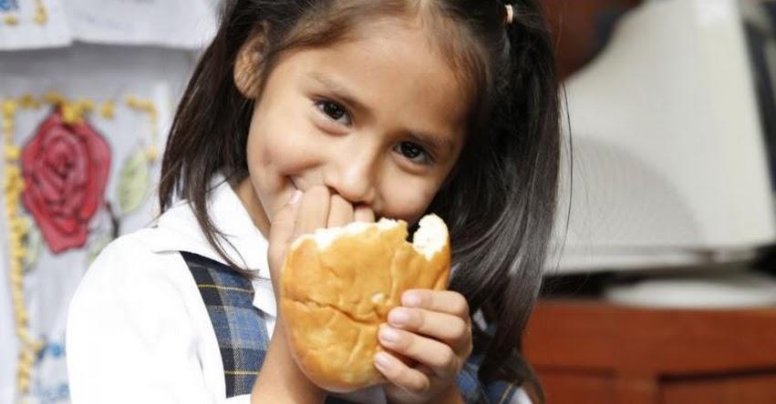 Con panes de camote, papa y algarrobo Qali Warma combatirá la anemia en Cañete - www.qaliwarma.gob.pe