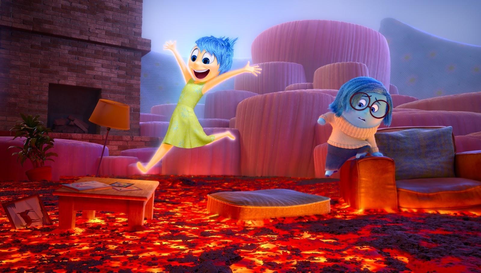 AnimateFun 艾樂莓特: 皮克斯年度動畫片!!8/7即將登場!腦筋急轉彎(Inside Out)誰!?是誰在控制我的喜怒哀樂!!