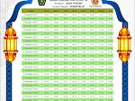 Jadwal Imsakiyah Kabupaten Purworejo 1438 H/ 2017 M