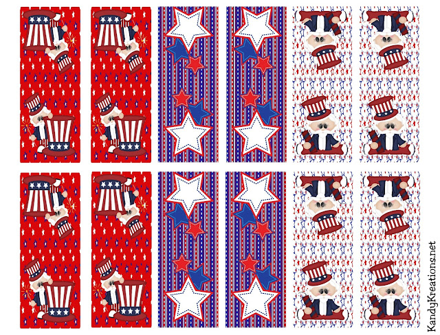 Bring a fun treat to your 4th of July Party with these Patriotic Tic Tac labels. You'll have a great party favor or dessert that will wow your guests and bring out the Patriotic spirit.