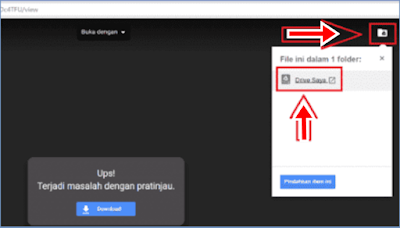 Cara Download File Di Google Drive Yang ERROR/SORRY