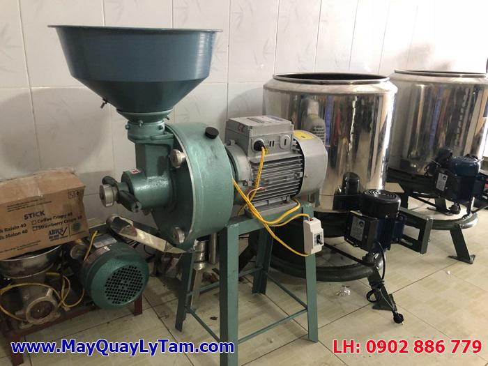 Máy xay đậu nành công nghiệp giá rẻ, máy nghiền bột nước chất lượng cao, mịn, công suất lớn
