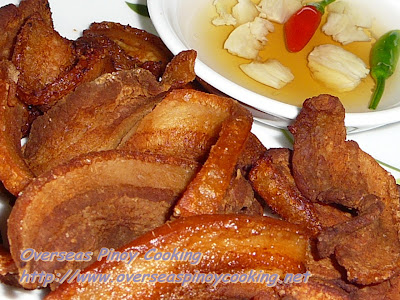 Deep Fried Pork Belly Strips