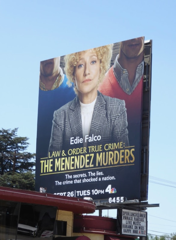 Law Order True Crime Melendez Murders billboard