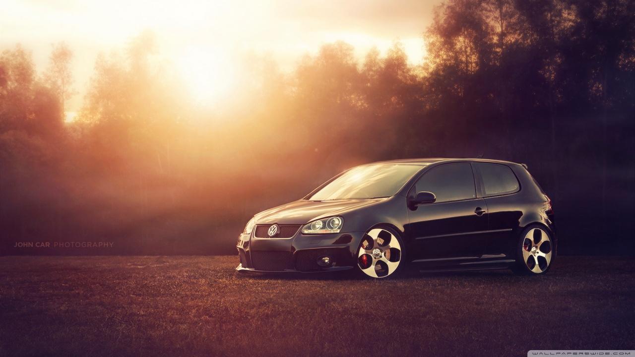 Luxurious Vw Sport Full Hd Car Wallpapers: Latest And New Sport Car Wallpapers: Volkswagen Golf Gti