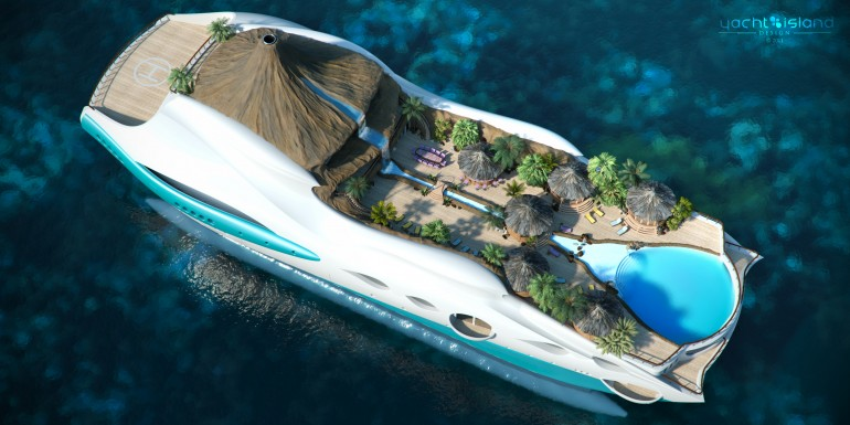 Tropical Island Paradise on a Yacht ~ Damn Cool Pictures