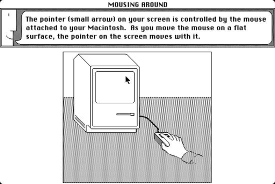 Macintosh System 1, guide tour - B