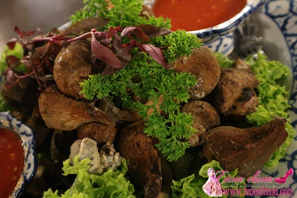 Makanan Eksotik Siput Laut di Rong Seri BAngi