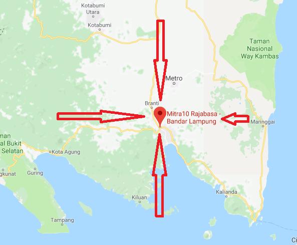 Alamat Mitra 10 Bandar Lampung
