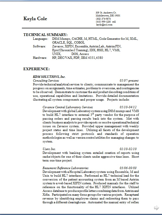 covance central laboratory services resume format in word free download