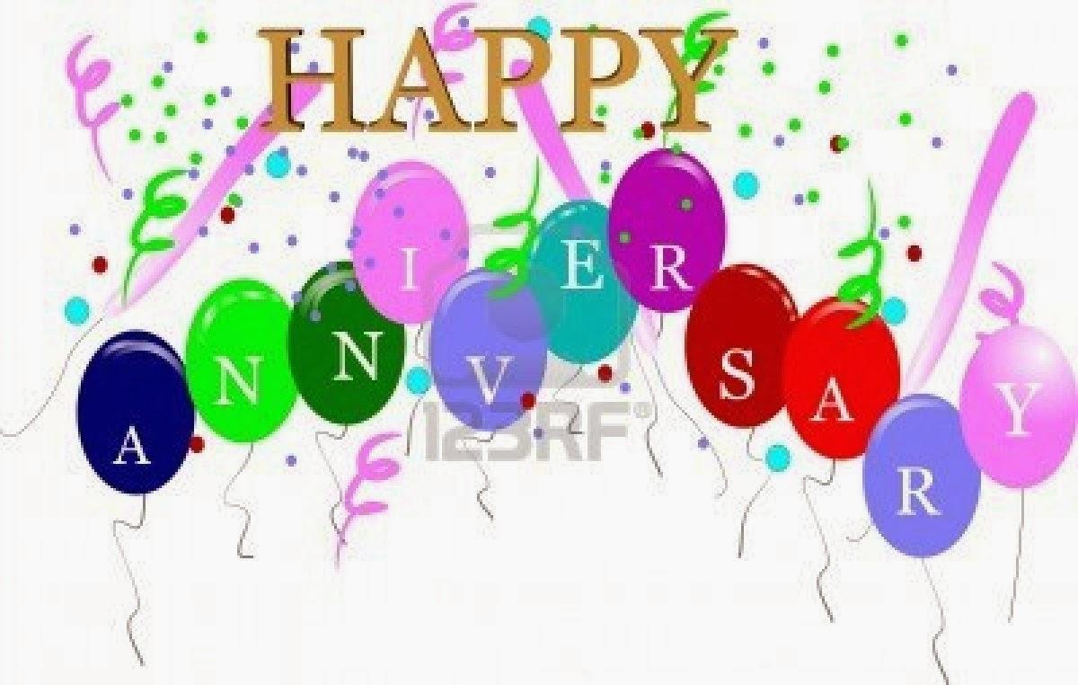 Anniversary Wishes Clip Art
