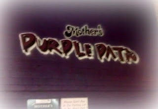 Mothers Purple Patio Picture