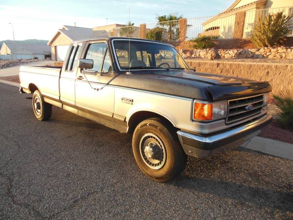 Ford F250 8 Foot Bed For Sale >> 1991 Ford F250 XLT Lariat Truck - Old Truck