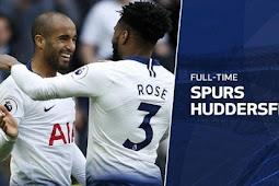 Video Cuplikan Gol Tottenham Hotspur vs Huddersfield 4-0