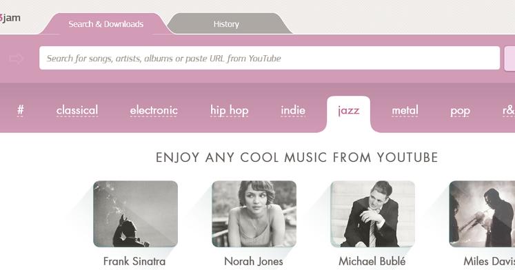 MP3jam 桌面版 YouTube 音樂播放器,線上收聽和 MP3 下載 (免費/英文/ 1.1.5.6版) - 逍遙の窩