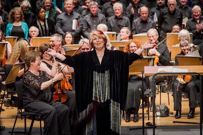 Marianne Cornetti and Chelsea Opera Group in Verdi's Il Trovatore - photo Robert Workman