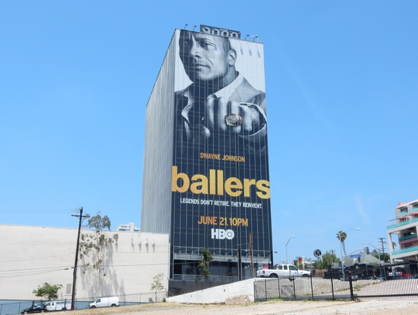 Giant Ballers HBO series billboard